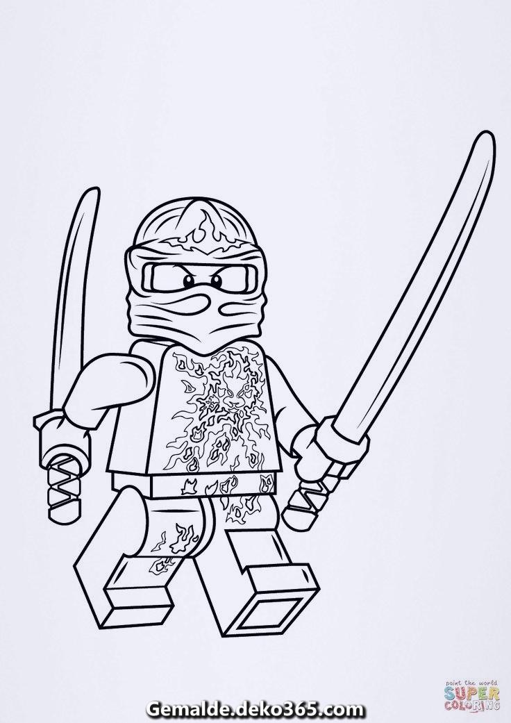 ausmalbilder lego ninjago kai nrg  ohne beschränkung