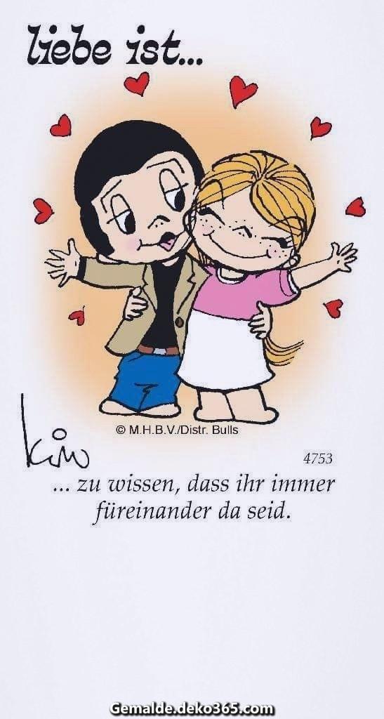 Die Liebe ist  zu wissen, dass Sie immer füreinander da