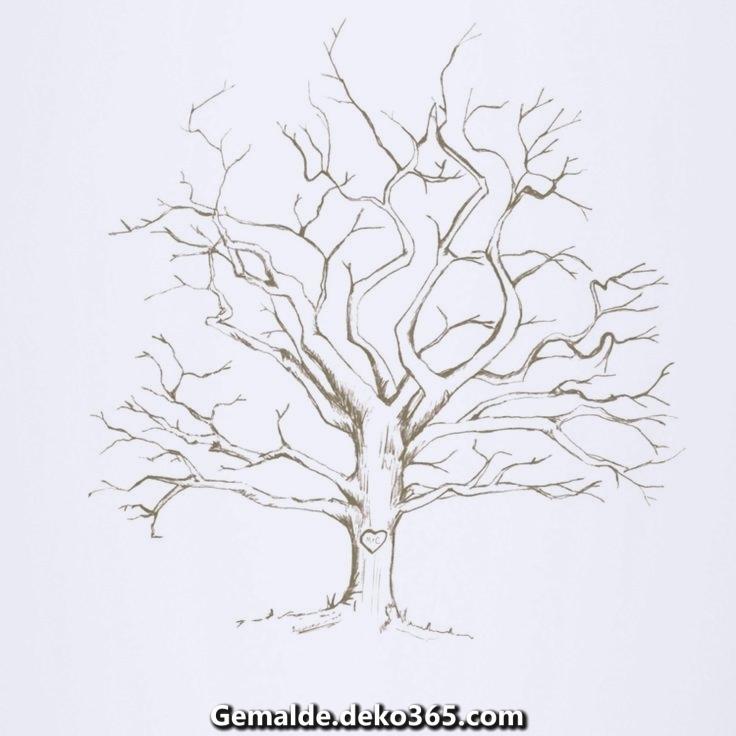 Malvorlage Baum Kostenlos 01 Art Simple Drawings