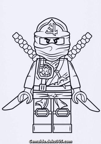 lego ninjago green ninja ausmalen — bilder