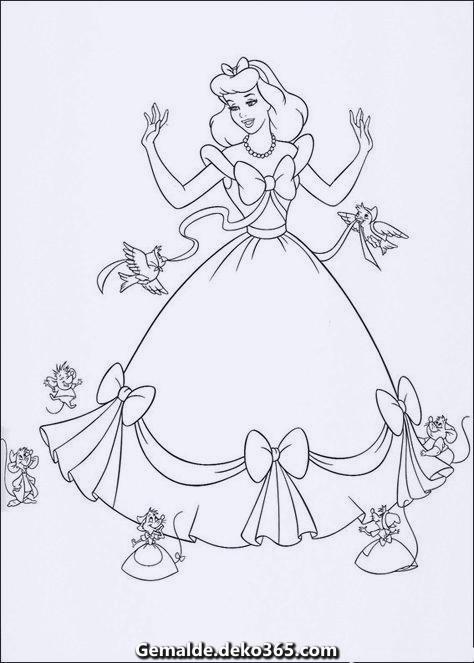 Malvorlagen Disney Princess Ausmalbilder Bilder