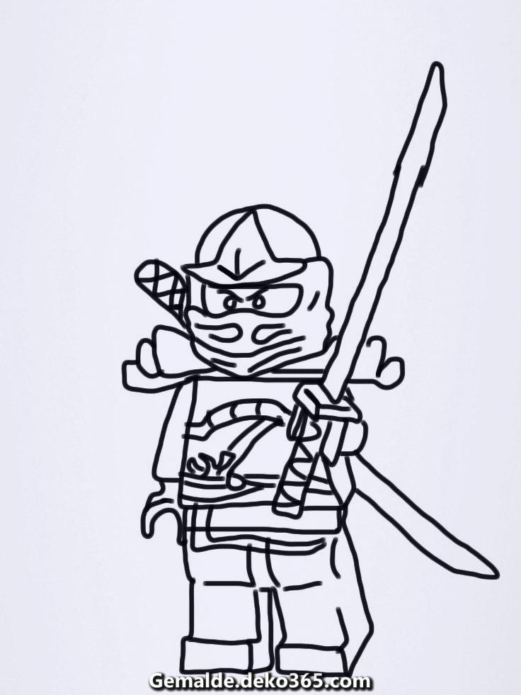 Malvorlagen Ninjago Lego 09 — Bilder