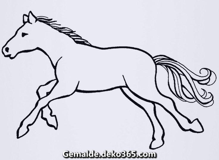 Ausmalbilder Pferde Kostenlos Ausdrucken Bilder