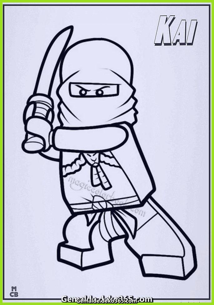 malvorlagen ninjago kai lego charismatische — bilder
