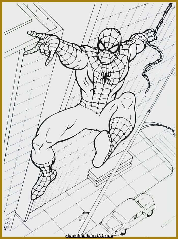 spiderman zum ausmalen — bilder